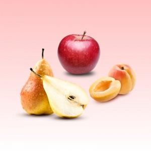 Pomme - Poire - Abricot