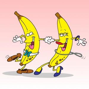 Banane au Schnaps
